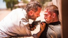 Guy Pearce, left, and Robert Pattinson in director David Michod's panned The Rover.