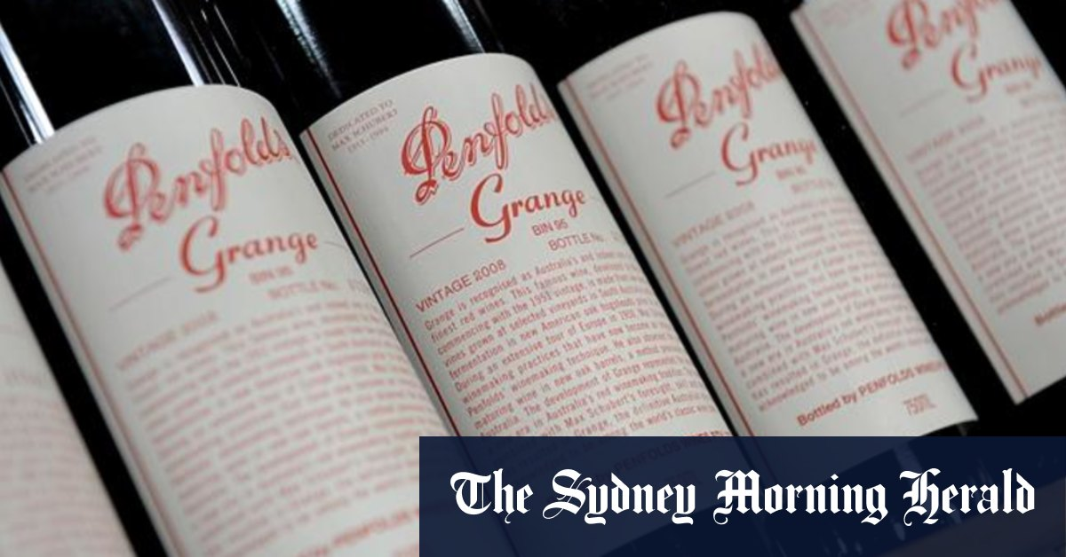Penfolds maker Treasury Wine in the 'firing line' of fresh China trade strike – Sydney Morning Herald