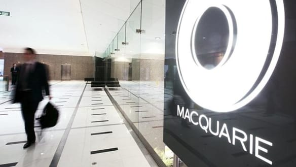 The headquarters of Macquarie Bank which treated ASIC staff at a Sydney bar.