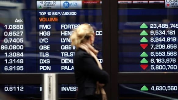 Sharemarkets' turmoil plays on investors' nerves