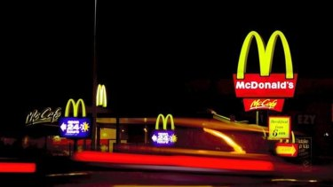 McFuture: The fast food giant has invested in a tech company to offer more personalised menus.