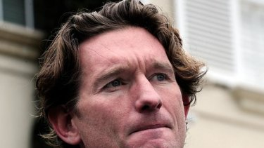 It's understood James Hird was cycling when he was hit by a car in Richmond.