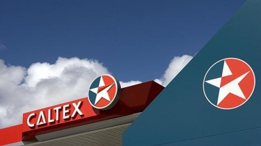 Caltex mooted the sale at the same time it reported a substantial drop in half-year profit.