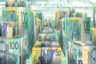 Cash building blocks savings account generic money Australian currency.SHD INVESTOR(NO CAPTION INFORMATION PROVIDED)