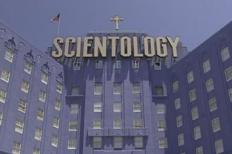 The international Church of Scientology has shifted tens of millions of dollars into Australia.