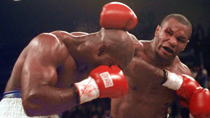 'No more excuses': arch-rival Holyfield calls out Tyson for round three