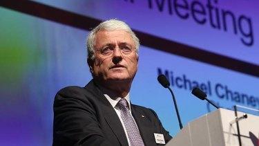 Wesfarmers chairman Michael Chaney.