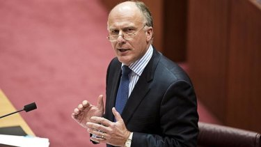 Eric Abetz defended his purchase of 200 copies of the book.