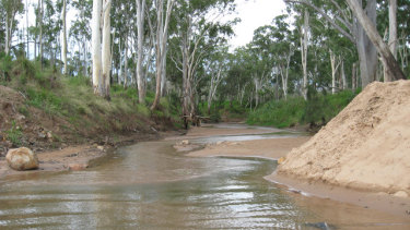 Adani's pipeline would suck 12.5 billion litres a year from the Suttor River in central Queensland.