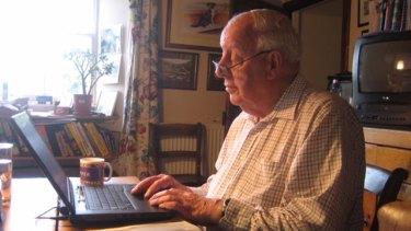 Hugh Peskett, master of family history research.