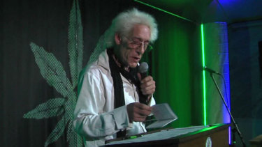 Bill Levin, the leader of the First Church of Cannabis in Indianapolis.