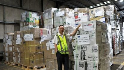 Former Chinese military man behind export of tonnes of medical supplies