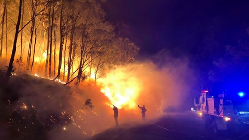 Queensland blazes: Residents told to evacuate in Toowoomba region - WAtoday