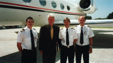 Solly Lew lent his private jet and crew to Bill Clinton on his visits to Australia.