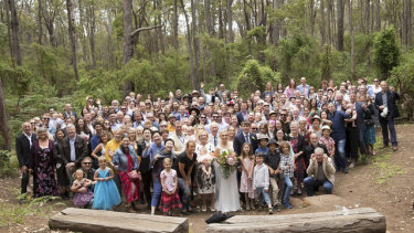 The wedding of Ms Williams' daughter was held at a saw mill in Margaret River in 2018.