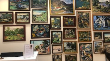 "Some of the ""Noel Wood"" works withdrawn from sale by the auction house Leonard Joel."