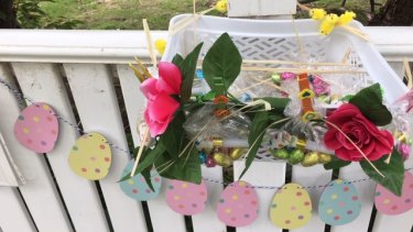 An Easter kindness package.