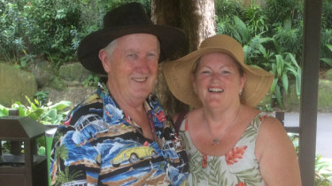 Steven Filer and his wife, Louise Filer.