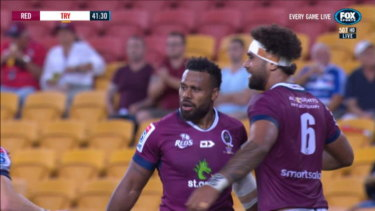 Queensland did all of their scoring in the second half as they disposed of the Stormers to claim the victory.