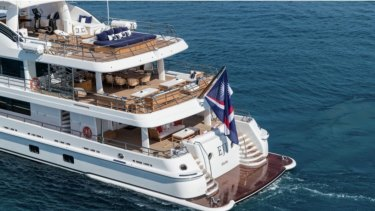 "With every conceivable luxury including ""folding balconies"", Packer's brand new boat is ""too small""."