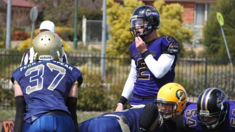 Centurions quarterback Beau Kennett.