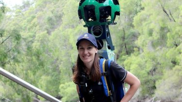 Sarah Campbell mapped the southwest WA region with the Google trekker.