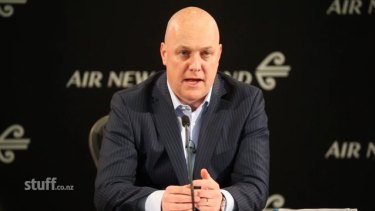 Christopher Luxon, Air New Zealand chief executive.