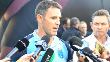 Close calls: Brad Fittler says Nathan Cleary and James Maloney have two weeks to sort their form out.