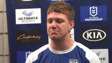 Tale of the tape: Dylan Napa's lewd antics could not have come at a worse time for rugby league.