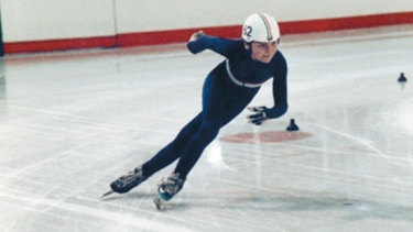 Future Olympic gold medallist Steven Bradbury won the 1991 Relaying World Championships at Macquarie Ice Rink when he was just 17.