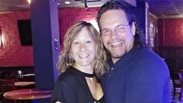 Jason Kunselman and his wife Kristy.