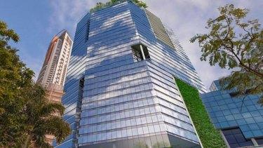 Grocon's tower at 480 Queen Street, Brisbane.