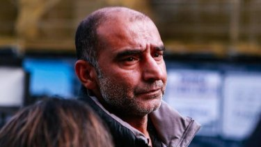 Yama Nabi was running late for mosque, where his father Haji-Daoud Nabi died shielding another person from the shooter.