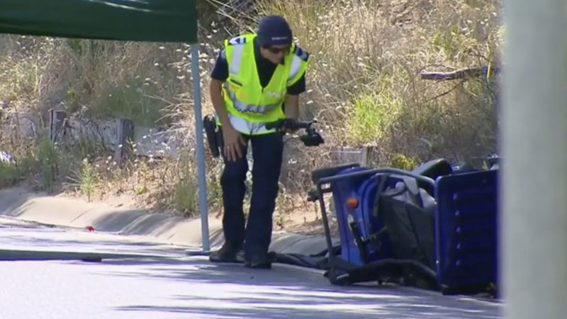 Man dies after his mobility scooter is hit from behind in Rosebud