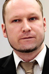 Court documents say Christopher Paul Hasson has been studying the 1500-page manifesto of right-wing terrorist Anders Behring Breivik (above).