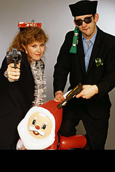 Christmas classic ... Kirsty MacColl and Shane MacGowan.
