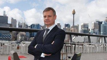 Cricket Australia's interim chair, Richard Freudenstein.