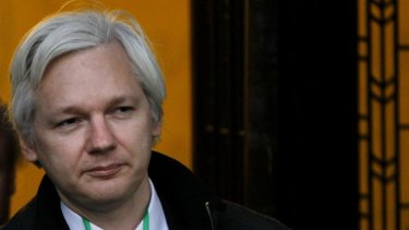 Julian Assange walked into Ecuador's embassy in London and asked for asylum under the United Nations Human Rights Declaration.
