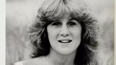 Good girl: Christine Blasey Ford as a graduating senior in 1984.