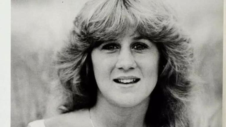 Good girl: Christine Blasey Ford as a graduating senior in 1984.