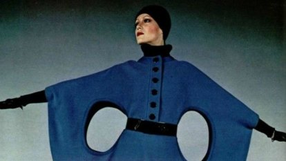 Captivated by Pierre Cardin, two fans produce an homage