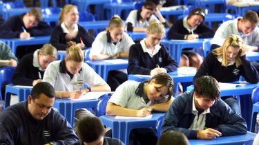 VCE students will start exams in early November.