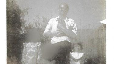 Jenny Haynes with her father Richard Haynes.