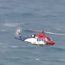 Search for missing fisherman is suspended in rough seas