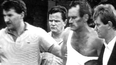 Russell Cox's arrest.