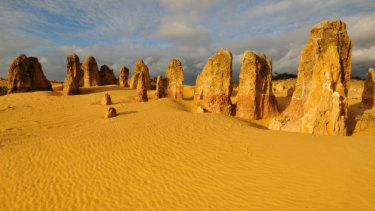 The Pinnacles are a popular stop on the way to the Coral Coast