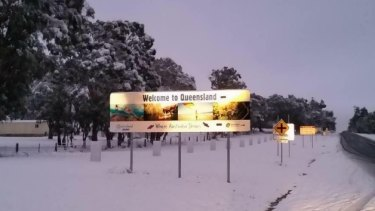 The last time Queensland saw snow was on July 17, 2015.