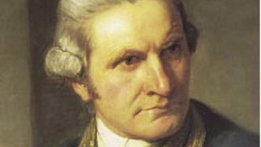 Captain James Cook, a legendary seafarer, some of whose feats have been lost in translation.