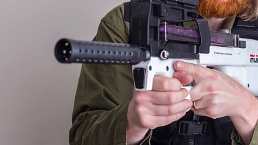 Gel blasters are banned in all states except Queensland and South Australia. (File Image)