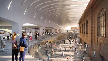 Woods Bagot and John McAslan + Partners are the architectural partners delivering the Sydney Metro upgrade to Central Station.